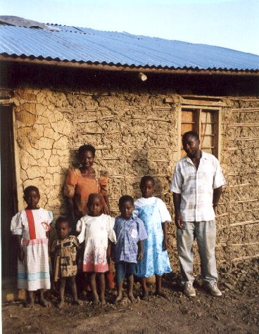Family with sponsored children