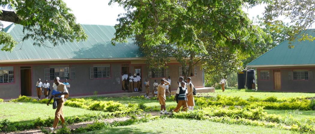 new classroom blocks for the secondary school